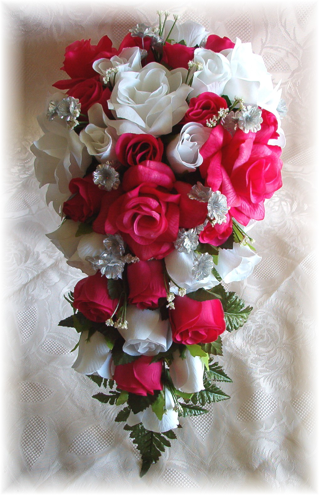 Hot Pink And White Wedding Flowers Flowers Healthy